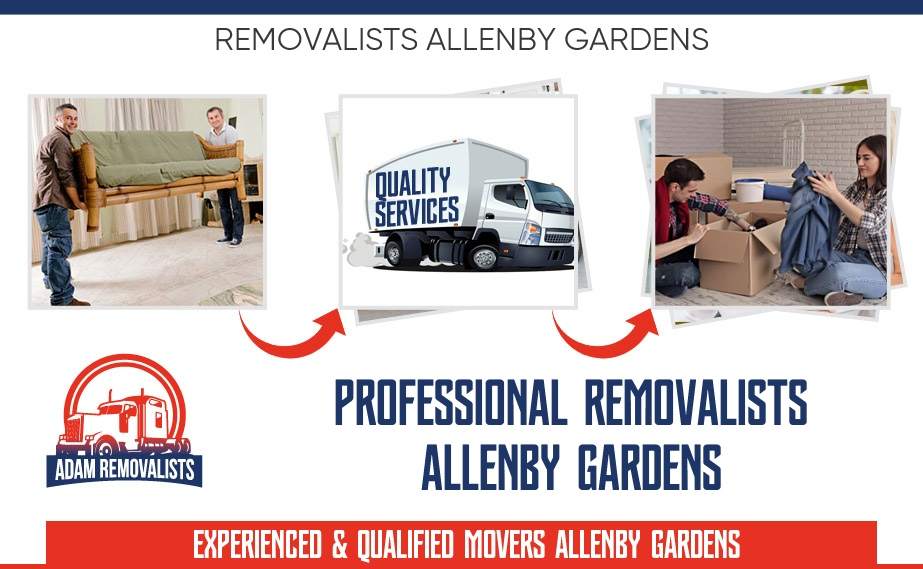 Removalists Allenby Gardens