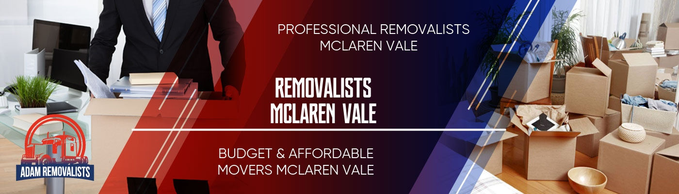 Removalists McLaren Vale
