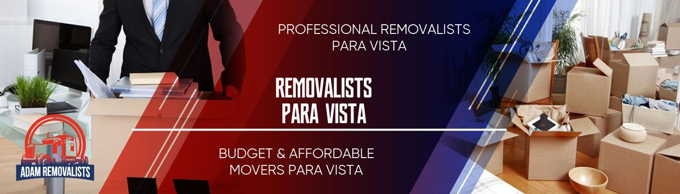 Removalists Para Vista