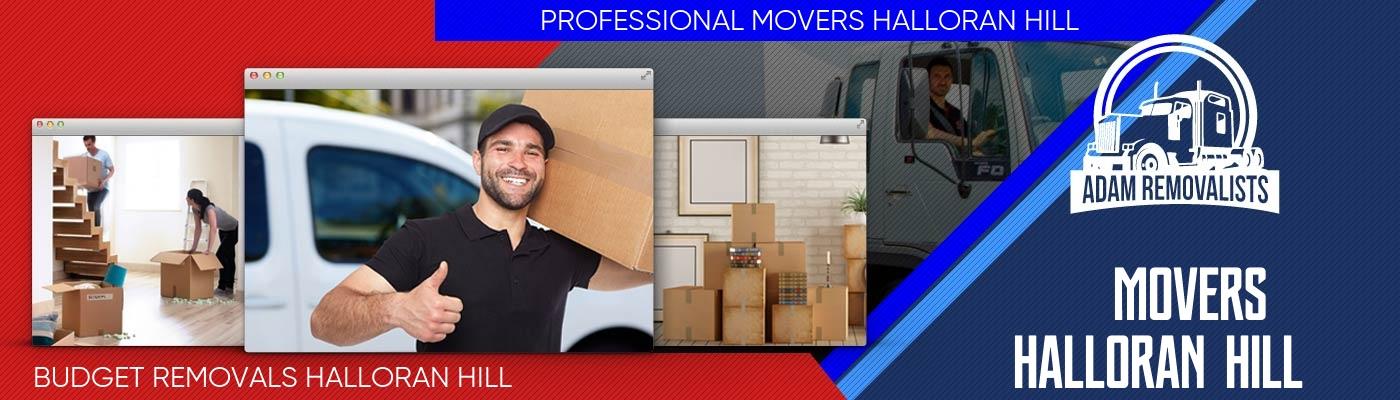 Movers Halloran Hill