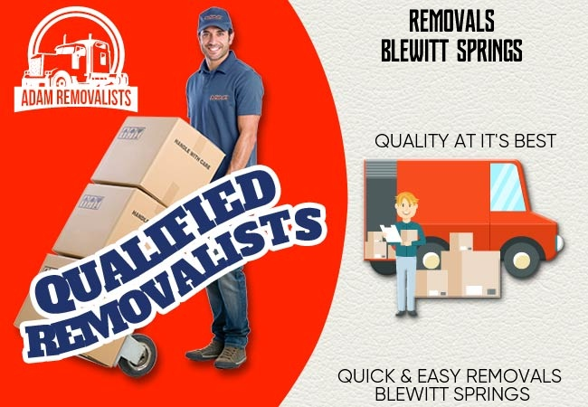 Removals Blewitt Springs