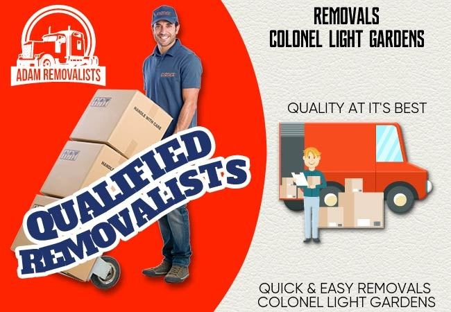 Removals Colonel Light Gardens