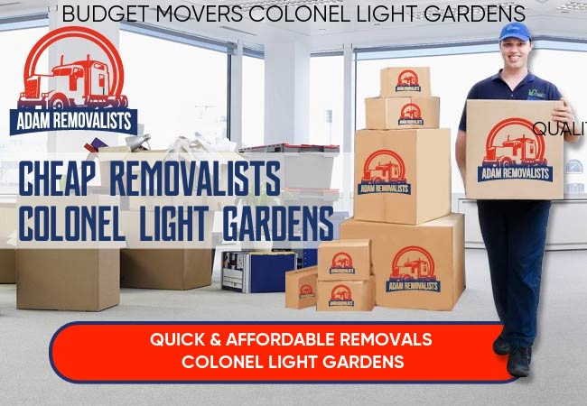 Cheap Removalists Colonel Light Gardens