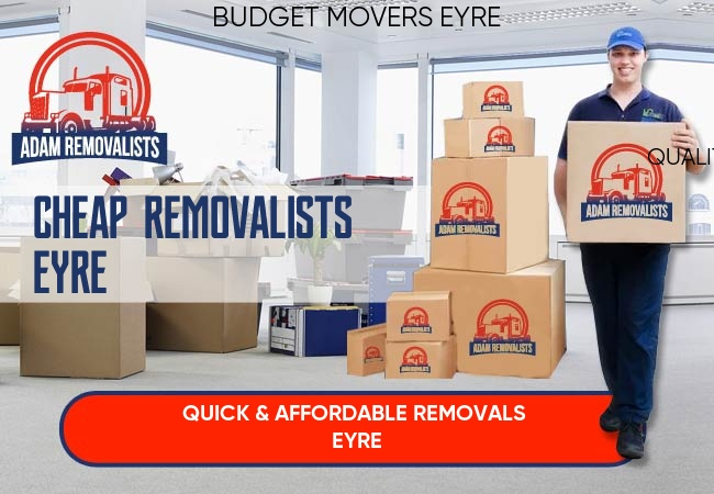 Cheap Removalists Eyre