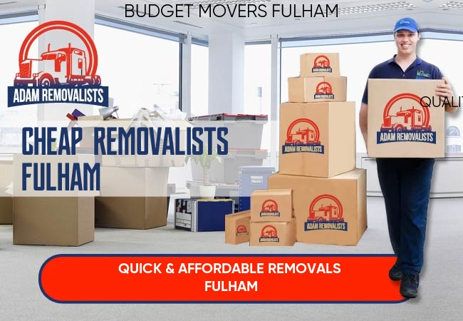 Cheap Removalists Fulham
