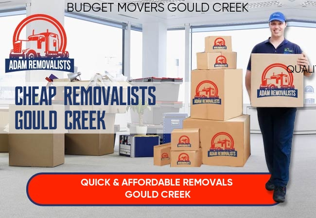 Cheap Removalists Gould Creek
