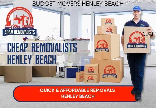 Cheap Removalists Henley Beach