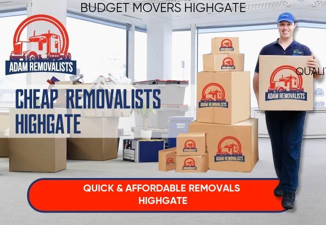 Cheap Removalists Highgate