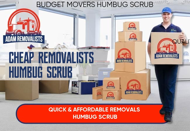 Cheap Removalists Humbug Scrub