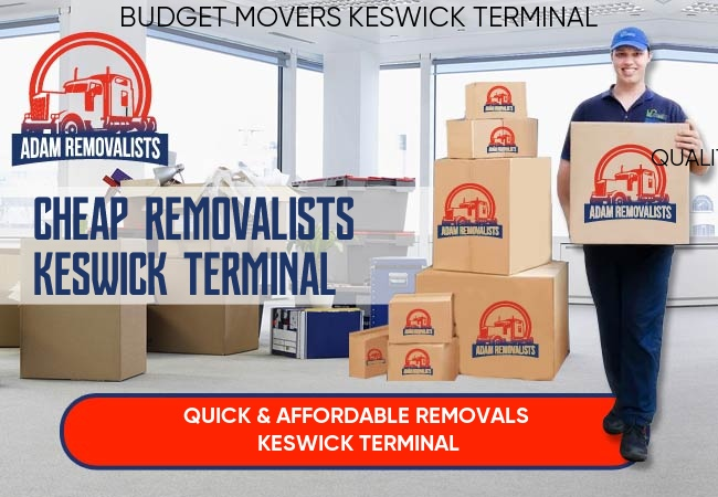 Cheap Removalists Keswick Terminal
