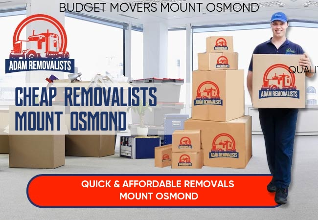Cheap Removalists Mount Osmond