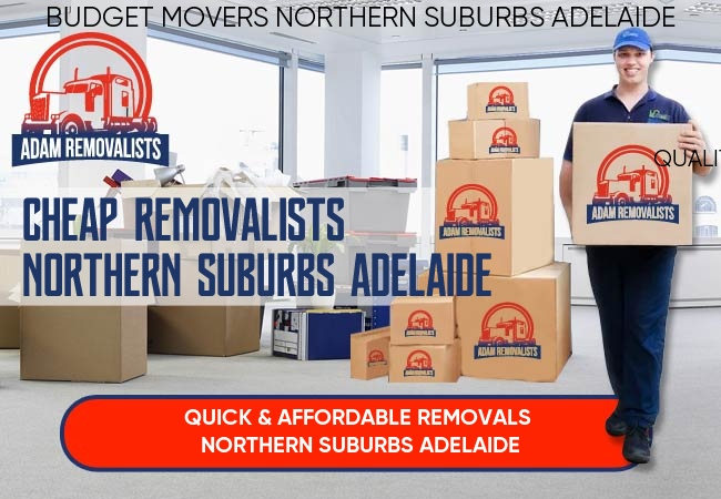 Cheap Removalists Northern Suburbs Adelaide