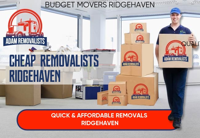 Cheap Removalists Ridgehaven
