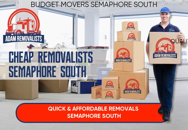 Cheap Removalists Semaphore South