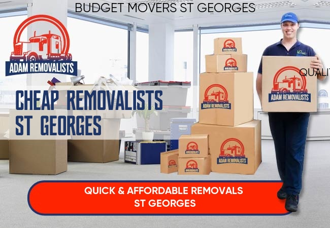 Cheap Removalists St Georges
