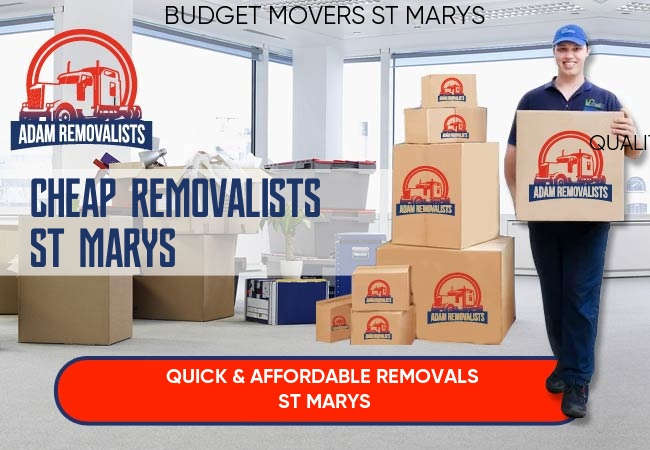 Cheap Removalists St Marys
