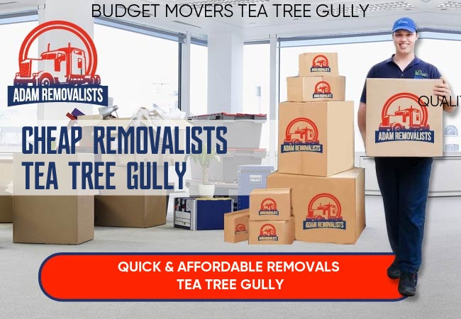 Cheap Removalists Tea Tree Gully