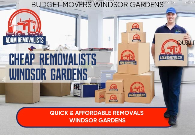 Cheap Removalists Windsor Gardens