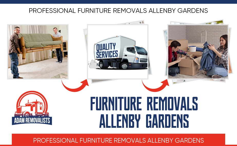 Furniture Removals Allenby Gardens