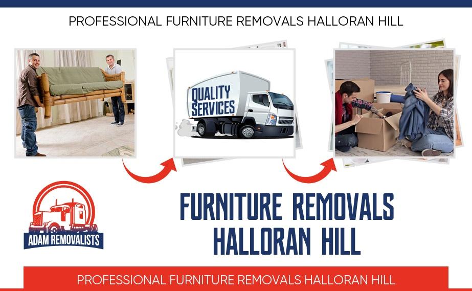 Furniture Removals Halloran Hill