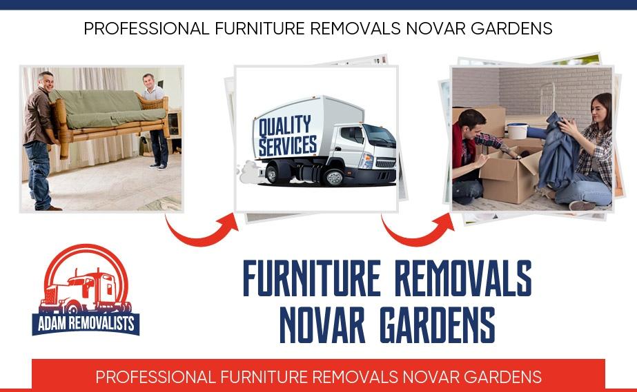 Furniture Removals Novar Gardens