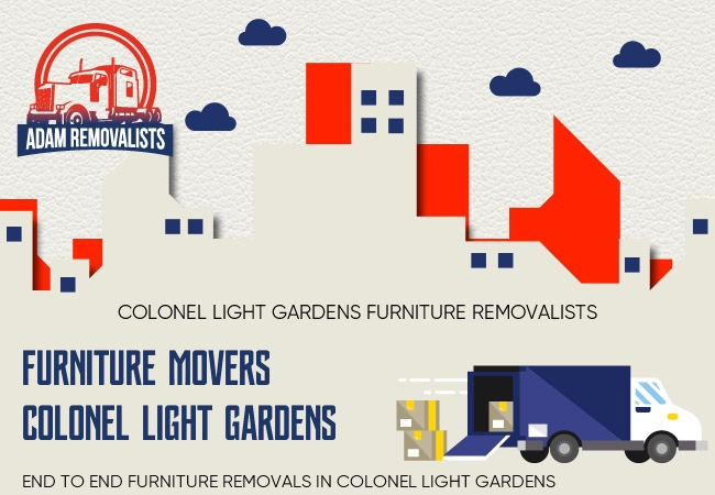 Furniture Movers Colonel Light Gardens