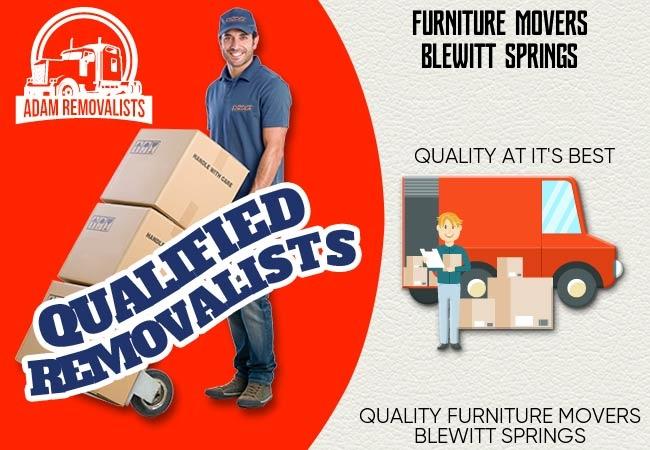 Furniture Movers Blewitt Springs