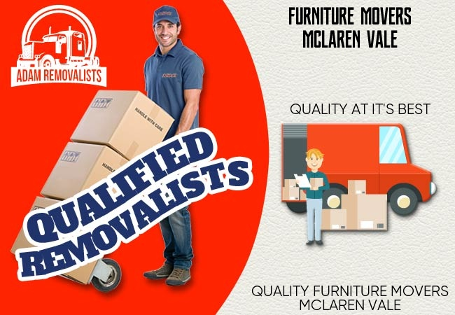 Furniture Movers McLaren Vale