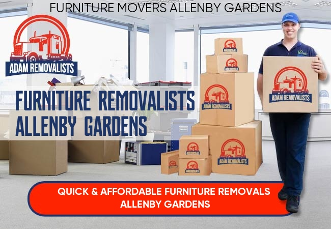 Furniture Removalists Allenby Gardens