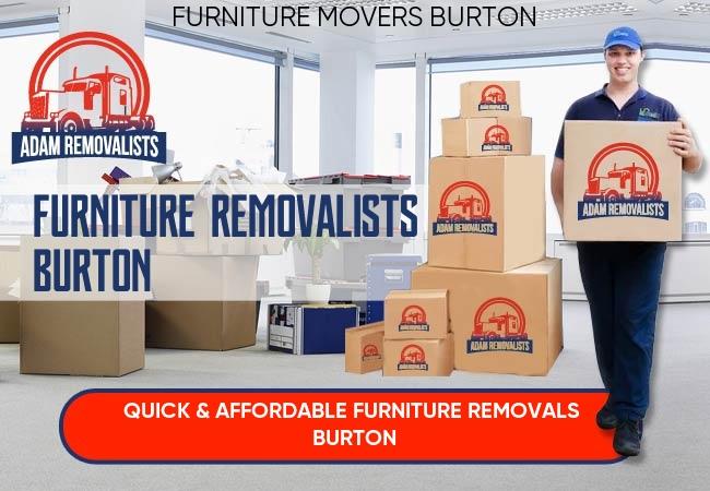 Furniture Removalists Burton