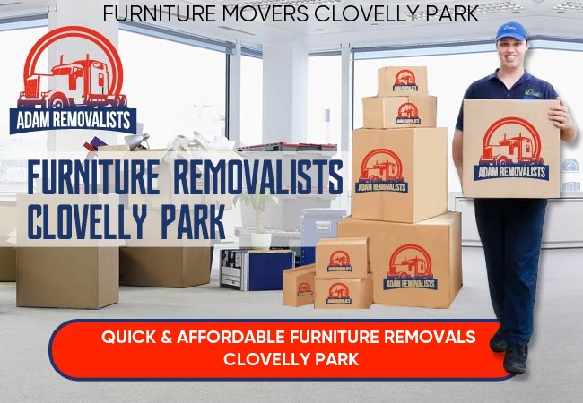 Furniture Removalists Clovelly Park