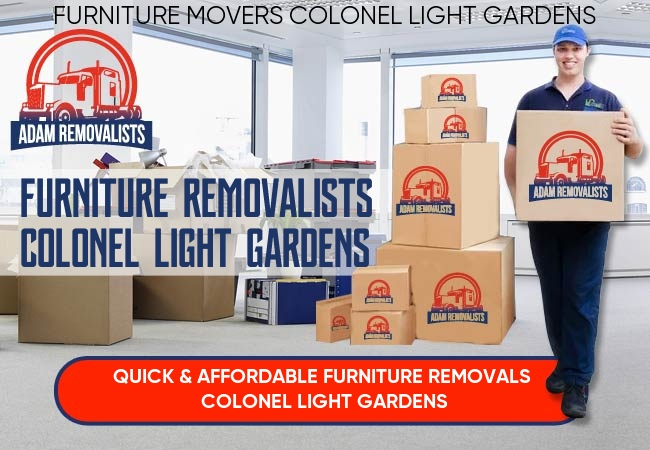 Furniture Removalists Colonel Light Gardens