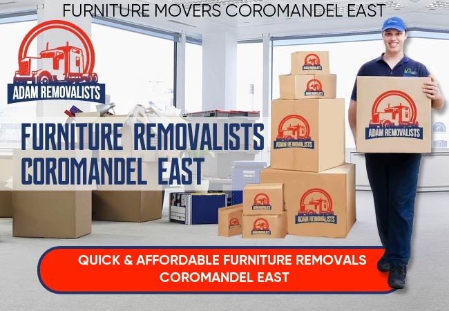 Furniture Removalists Coromandel East