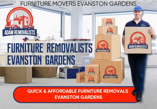 Furniture Removalists Evanston Gardens