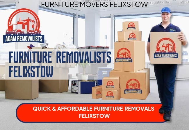 Furniture Removalists Felixstow