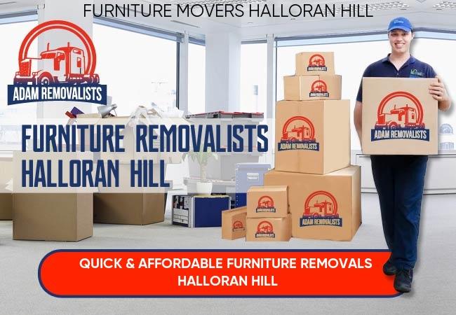 Furniture Removalists Halloran Hill