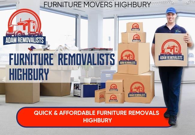 Furniture Removalists Highbury