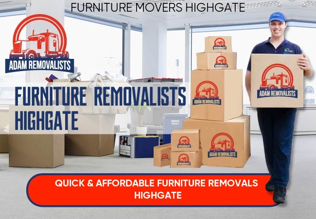 Furniture Removalists Highgate