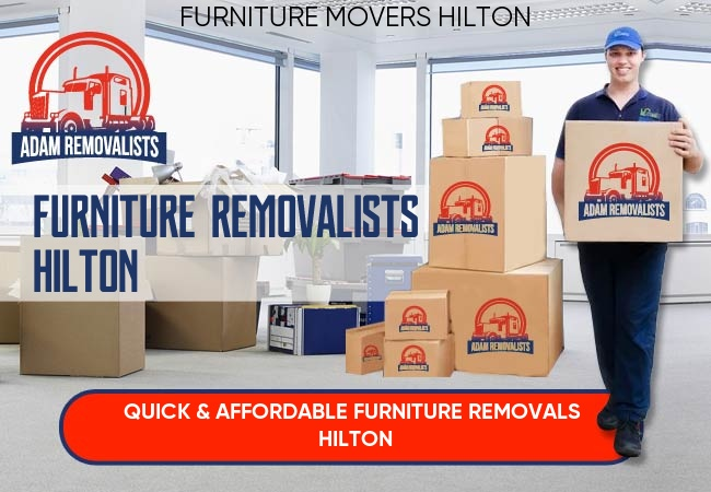 Furniture Removalists Hilton