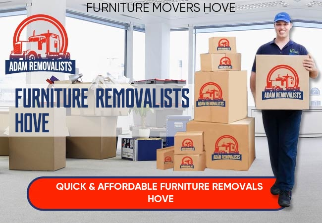 Furniture Removalists Hove