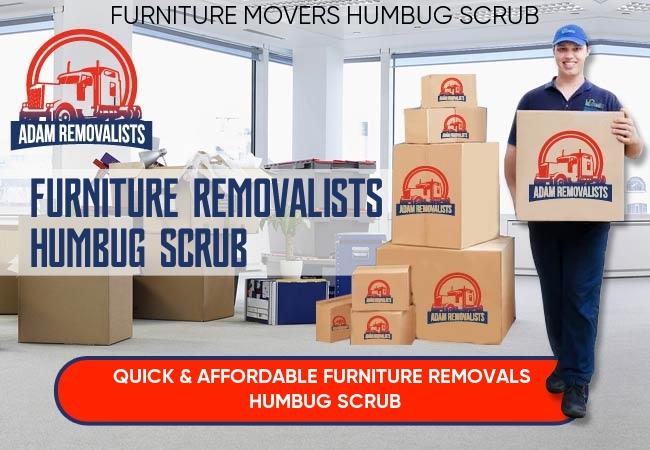 Furniture Removalists Humbug Scrub