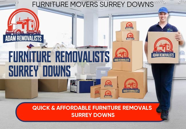 Furniture Removalists Surrey Downs