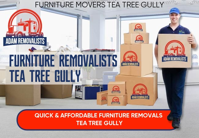 Furniture Removalists Tea Tree Gully