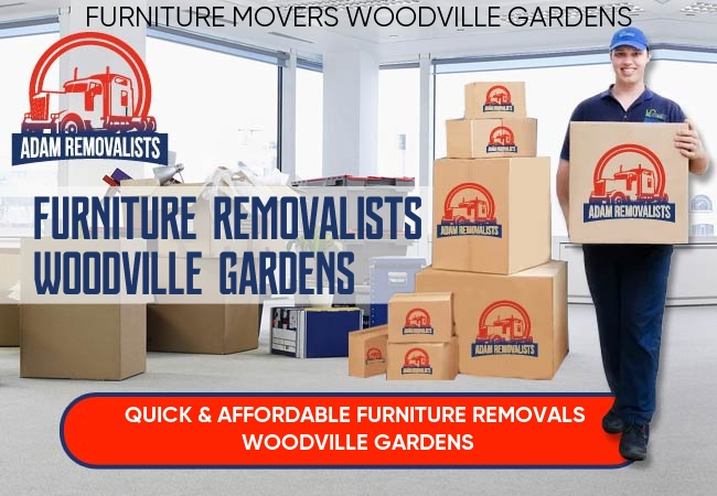 Furniture Removalists Woodville Gardens